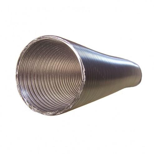 Tubo Redondo Aluminio Flexible Diámetro 150 mm