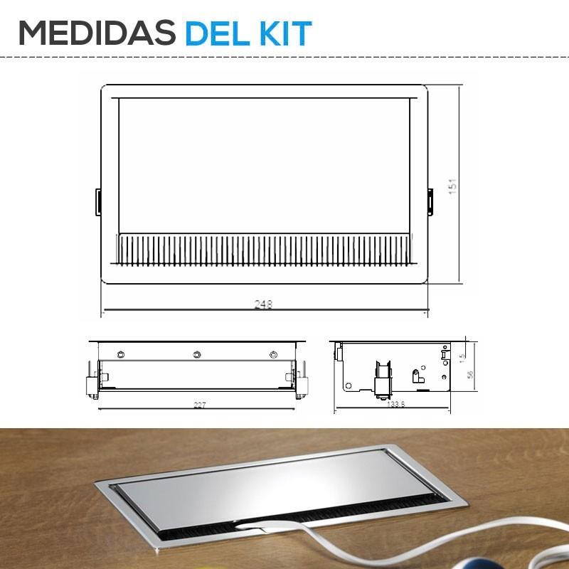 Bonito medidas encimera cocina fotos barras de cocina que - Medida encimera cocina ...