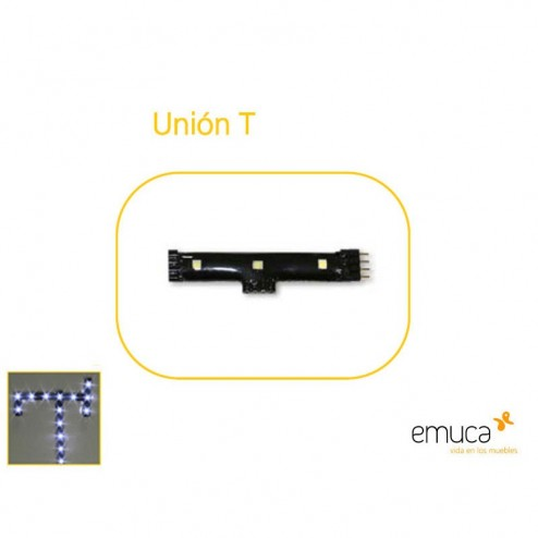 Union T para Aplique Led Flexled