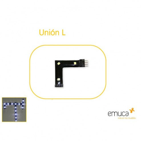 Union L para Aplique Led Flexled