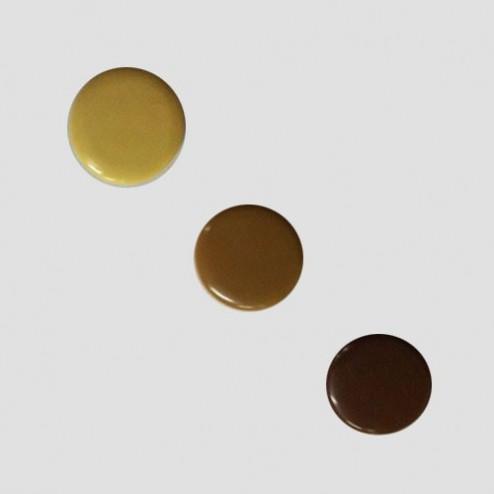Tapa embellecedor taladro bisagra 38 mm (10 unidades)
