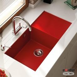 Fregadero 86x52 Poalgi SHIRA 503 Resina Colores