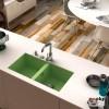 Fregadero 80x52 2 Senos Poalgi SHIRA 506 Resina Colores