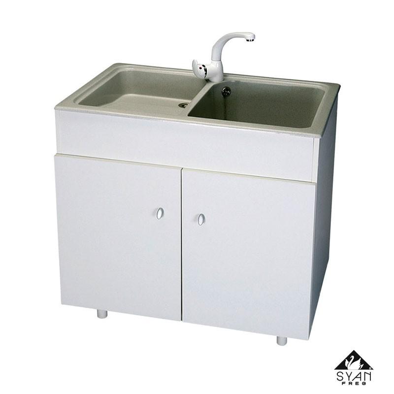 Mueble fregadero lavadero 20170818014854 - Fregaderos thor ...