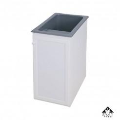 Mueble lavadero-pila aluminio Apolo