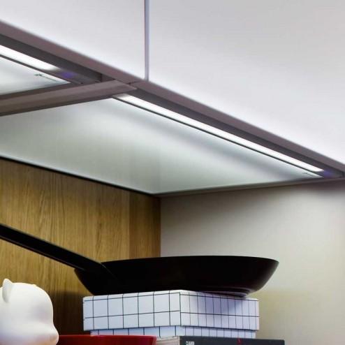 Fondo Luminoso Led Plano Encastrable para Mueble 12V 4000K