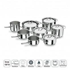Batería de Cocina 8 Piezas Profesional
