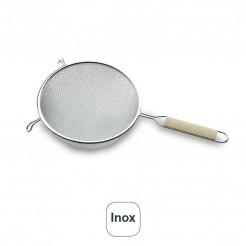 Colador Doble Malla Alambre Estañado Inox U.P.