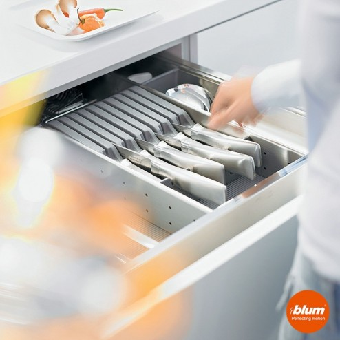 Cuchillero para cubertero CAJON ORGALINE cocina Blum