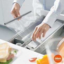 Cortador papel film plastico cocina CAJON ORGALINE cocina Blum