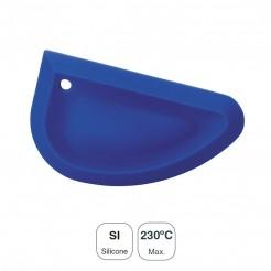 Rasqueta Silicona Azul