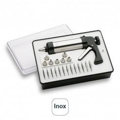 Juego Pistola Inox Repostería