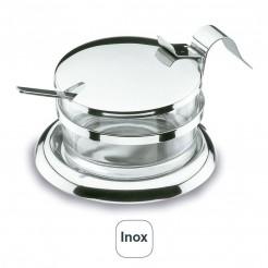 Quesera Parmesana con Cuchara Inox