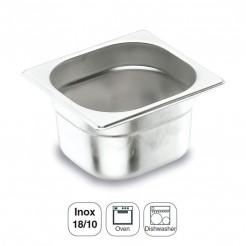 Cubeta Inox 18/10 Gastronorm 1/6