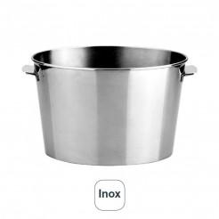 Cubo Enfría-Champán Oval Inox