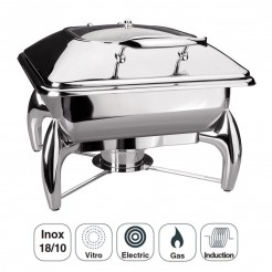 Chafing Dish Luxe Inox Gastronorm 2/3