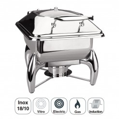 Chafing Dish Luxe Inox Gastronorm 1/2