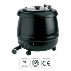 Olla Calentador Eléctrico Sopa Hierro Esmaltado