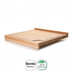 Tabla de Corte Dual Bambú Natural