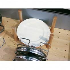 Set 4 Cilindros Separadores para Base Perforada Open Space