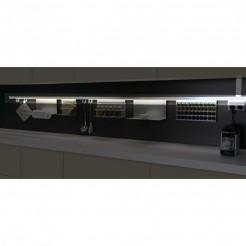 Kit Barra Aluminio Stark para Colgar Accesorios de Cocina