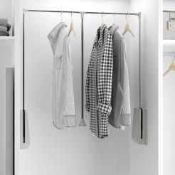 Elevador ropa abatible armario ropero