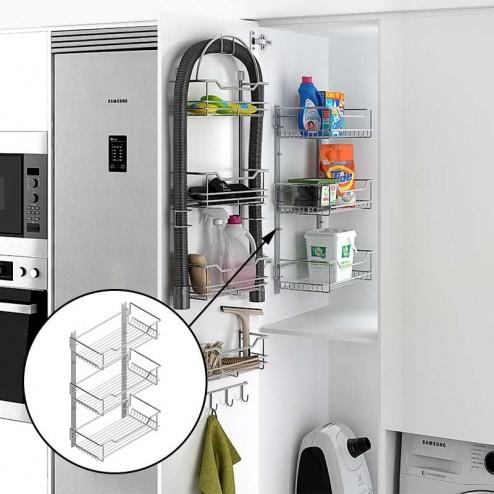 Kit estante para armario escobero for Accesorios cocina online