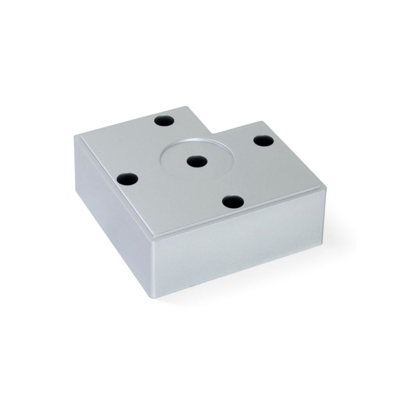 Pie nivelador para mueble alumix7 emuca Niveladores para muebles
