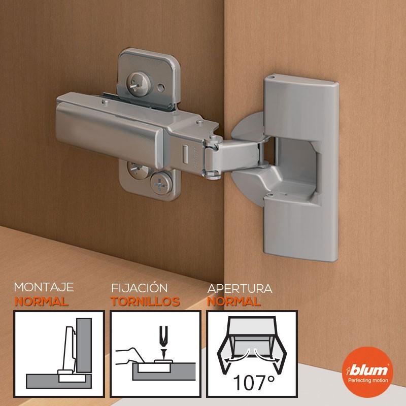 Como ajustar bisagras de puertas de cocina top kit tetones plstico blanco para bisagras with - Ajustar puertas armario ...