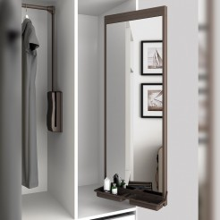 Espejo Extraíble Interior Armario Moka