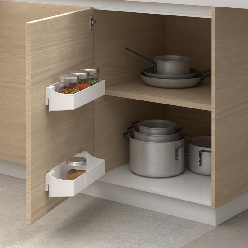 Juego de bandejas 350 mm de almacenaje auxiliar para mueble for Muebles para almacenaje