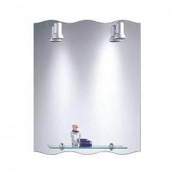 Espejo de Baño con Focos Balear Ola 60x75 cm