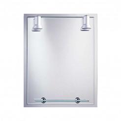 Espejo de Baño con Focos Balear Marco 60x75 cm