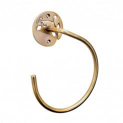 Toallero Anilla 14 cm Oro Viejo Serie Beauty