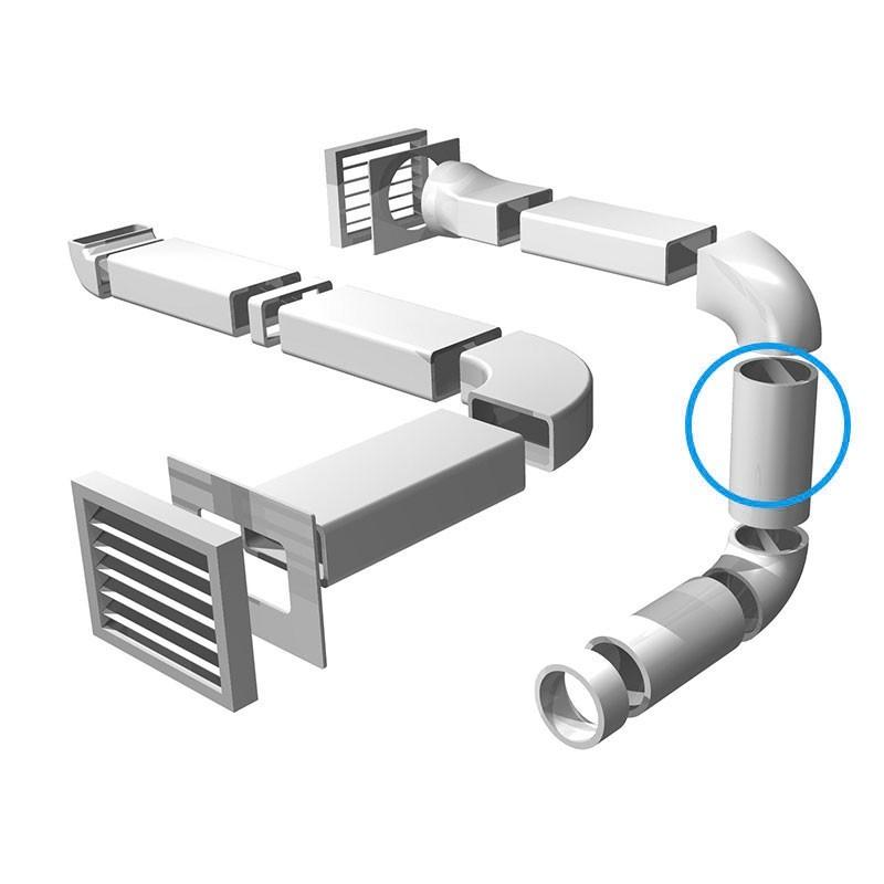 Tubo redondo diametro 150mm longitud 1500mm pvc - Campana extractora medidas ...
