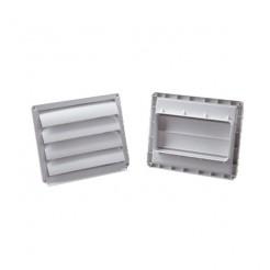 Ventanilla de salida exterior rectangular 75x150mm