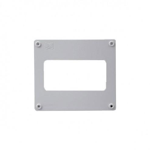 Remate de pared rectangular 60x120mm