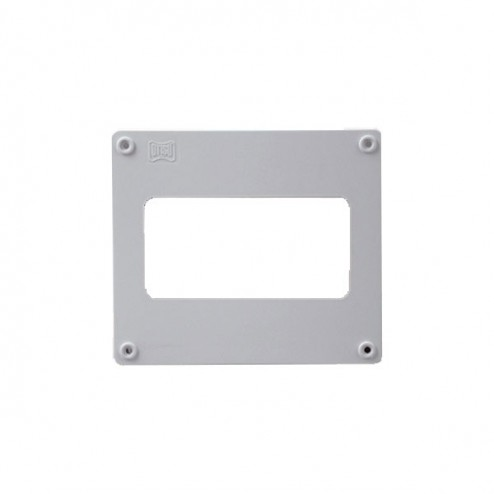 Remate de pared rectangular 90x180mm