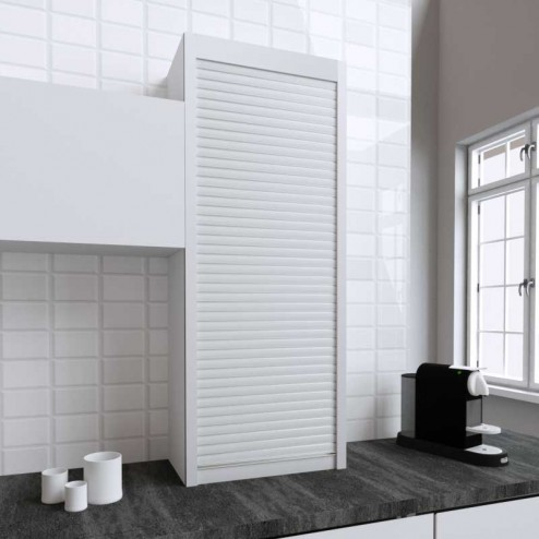 Kit para mueble persiana cocina blanco mate 150x60