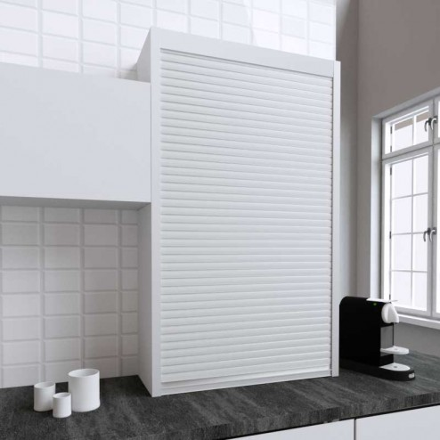 Kit para mueble persiana cocina blanco mate 150x90