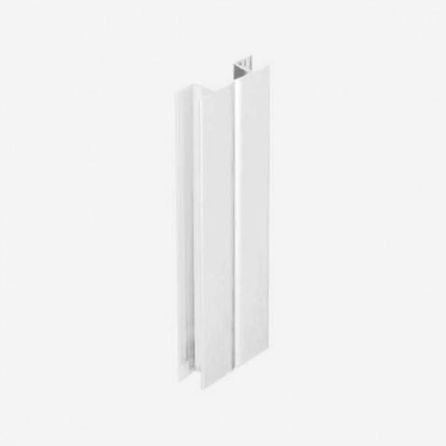 Multiángulo Blanco Zócalo PVC Cocina