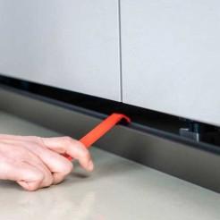 Palanca Extracción Pinza Magnética Zócalo PVC