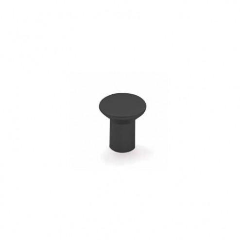 Pomo Metálico Negro Mate 3510