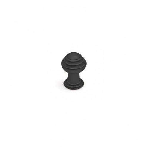 Pomo Metálico Negro Mate 3495