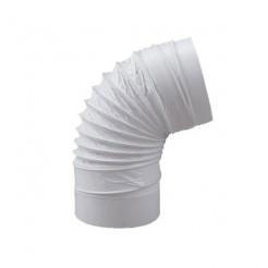 Codo Redondo Flexible Diámetro 100 mm Largo 500 mm