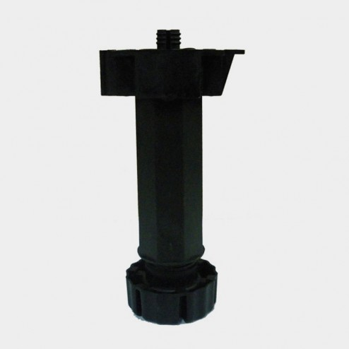 Pata cocina regulable negra modulo-mueble (4 Unidades)