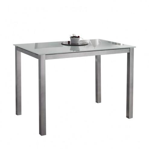 Mesa Cocina Fija de Cristal 73x105x60 cm