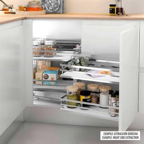 Extraible Articulado en Kit para Rincón Ciego Cocina