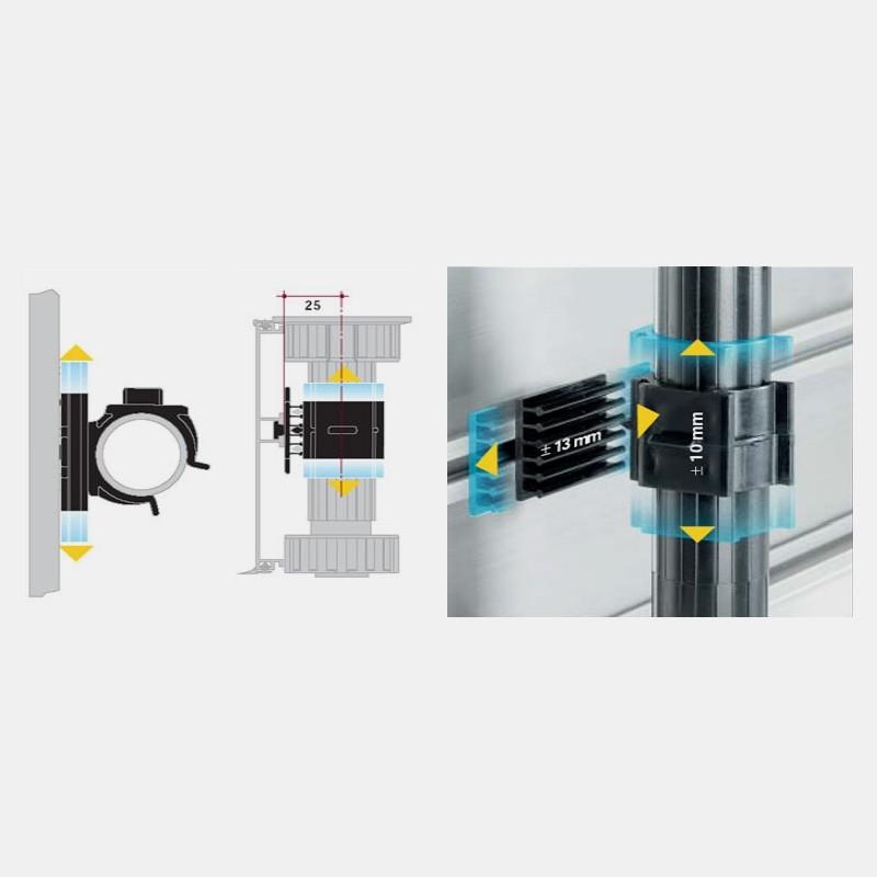 Pinza Zócalo PVC Cocina (4 Unidades) - Herrajes y Accesorios