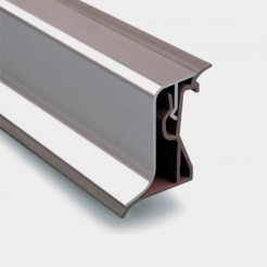 Copete Encimera Aluminio Inox